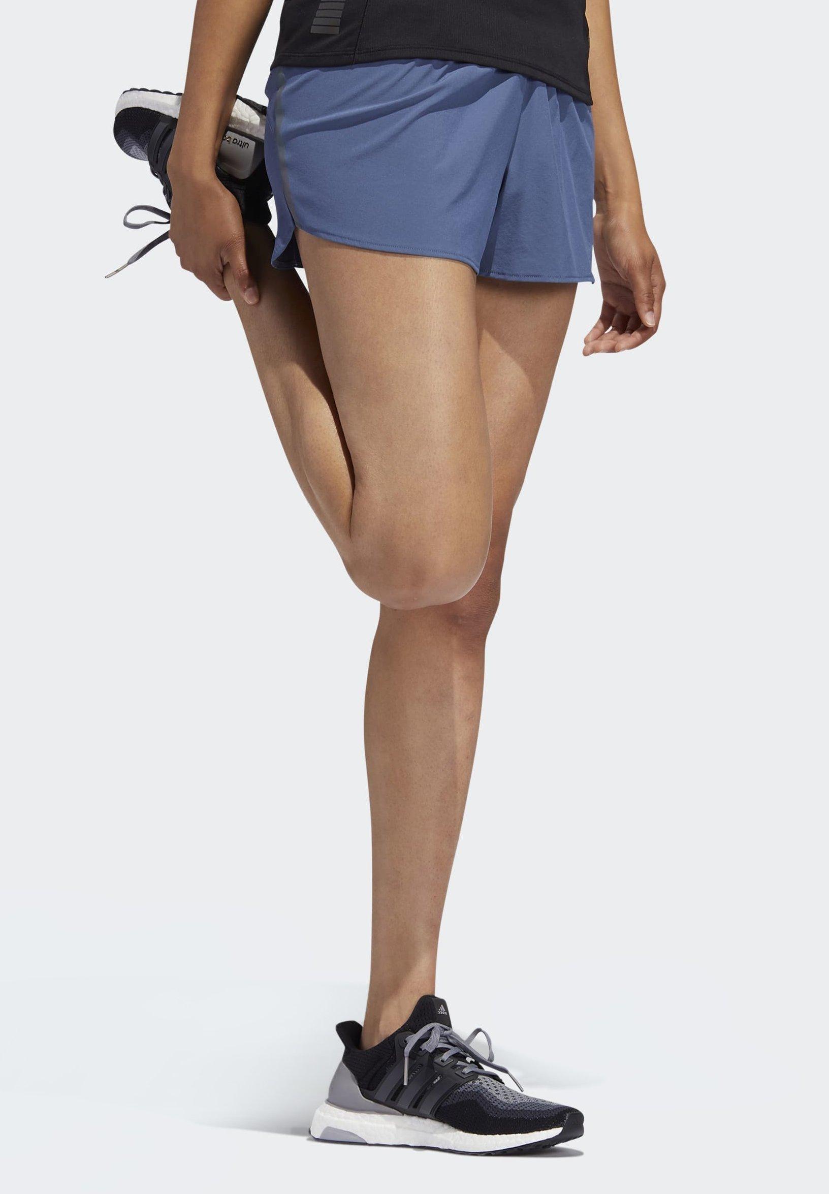 adidas Performance SUPERNOVA SATURDAY SHORTS - Krótkie spodenki sportowe - blue