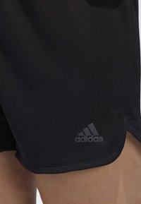 adidas Performance - 3-STRIPES SHORTS - Sports shorts - black - 5