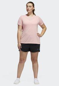 adidas Performance - 3-STRIPES SHORTS - Sports shorts - black - 1
