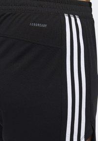 adidas Performance - 3-STRIPES SHORTS - Sports shorts - black - 6
