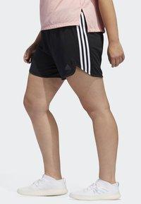 adidas Performance - 3-STRIPES SHORTS - Sports shorts - black - 3