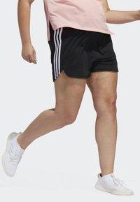 adidas Performance - 3-STRIPES SHORTS - Sports shorts - black - 4