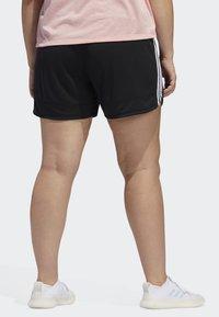 adidas Performance - 3-STRIPES SHORTS - Sports shorts - black - 2