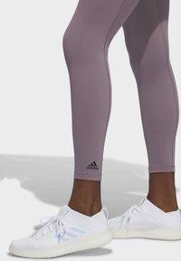 adidas Performance - BELIEVE THIS 7/8 LEGGINGS - Tights - legacy purple - 4