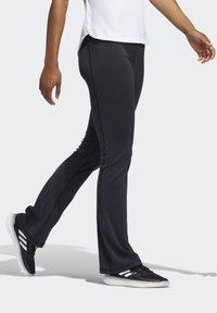 adidas Performance - BRUSHED BOOTCUT JOGGERS - Tracksuit bottoms - black - 2