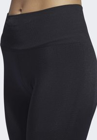 adidas Performance - BELIEVE THIS PRIMEKNIT FLW 7/8 LEGGINGS - Leggings - black - 4