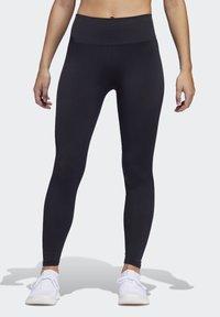 adidas Performance - BELIEVE THIS PRIMEKNIT FLW 7/8 LEGGINGS - Leggings - black - 0