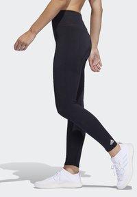 adidas Performance - BELIEVE THIS PRIMEKNIT FLW 7/8 LEGGINGS - Leggings - black - 3