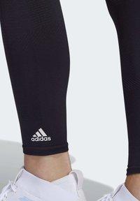 adidas Performance - BELIEVE THIS PRIMEKNIT FLW 7/8 LEGGINGS - Leggings - black - 5