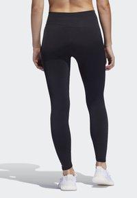 adidas Performance - BELIEVE THIS PRIMEKNIT FLW 7/8 LEGGINGS - Leggings - black - 1