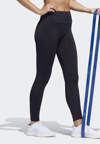adidas Performance - BELIEVE THIS PRIMEKNIT FLW 7/8 LEGGINGS - Leggings - black - 2