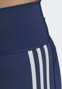 adidas Performance - BELIEVE THIS 3-STRIPES 7/8 LEGGINGS - Collants - tech indigo - 4