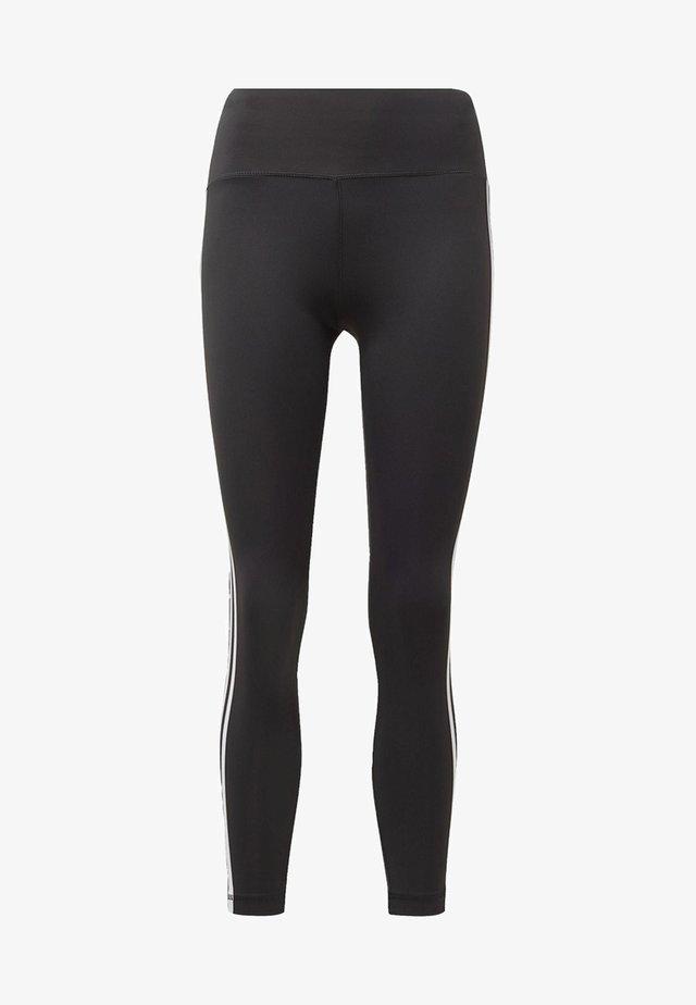 BELIEVE THIS 3-STRIPES LEGGINGS - Legging - black