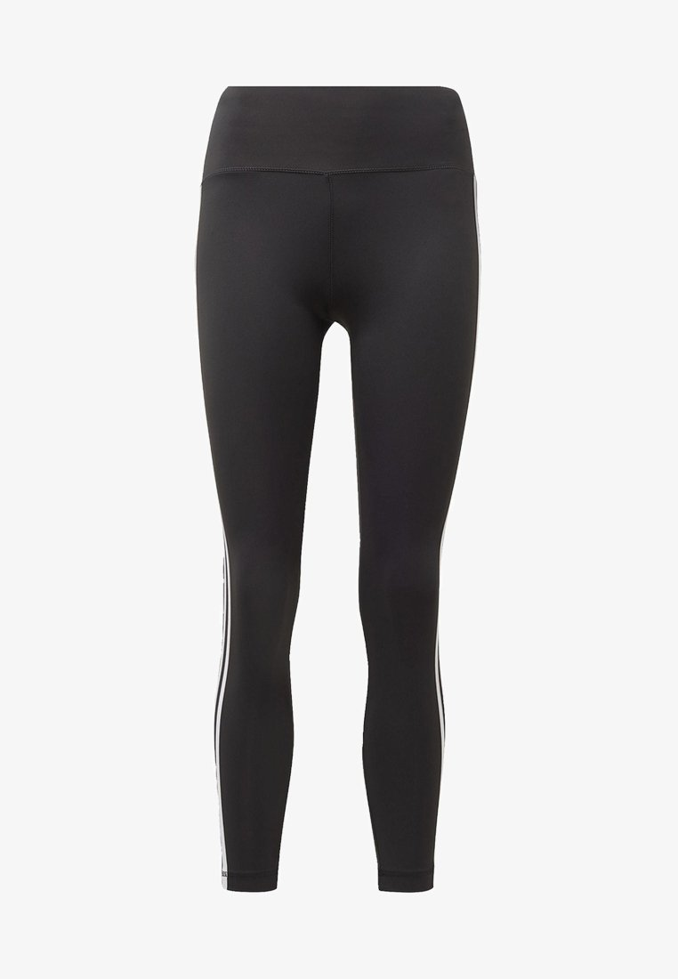 adidas Performance - BELIEVE THIS 3-STRIPES LEGGINGS - Collant - black