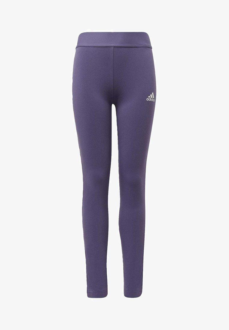 adidas Performance - MUST HAVES 3-STRIPES LEGGINGS - Tracksuit bottoms - tech purple