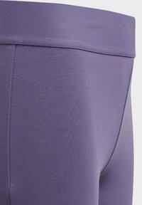 adidas Performance - MUST HAVES 3-STRIPES LEGGINGS - Tracksuit bottoms - tech purple - 3