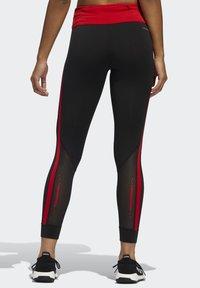 adidas Performance - OWN THE RUN VALENTINE 7/8 LEGGINGS - Collants - black - 1