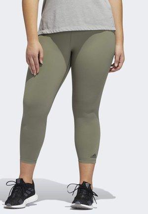 BELIEVE THIS SOLID 7/8 LEGGINGS - Leggings - green