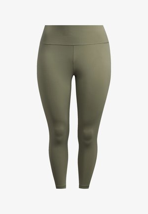 BELIEVE THIS SOLID 7/8 LEGGINGS - Collants - green