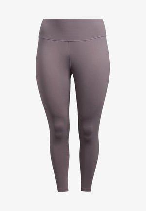 BELIEVE THIS SOLID 7/8 LEGGINGS - Legging - purple