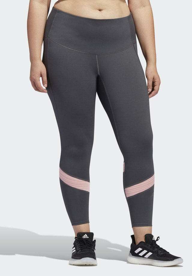 Leggings - grey/pink