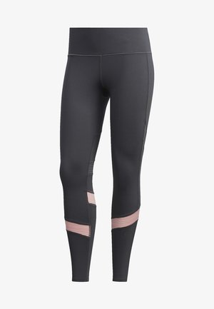 HOW WE DO 7/8 LEGGINGS - Tights - grey