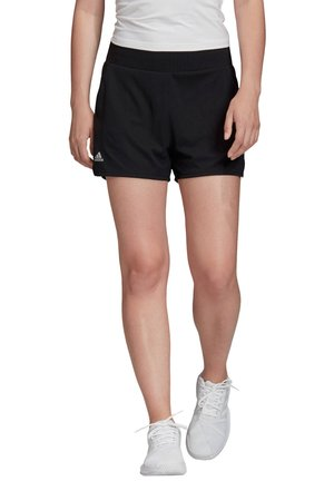 CLUB HI-RISE SHORT - kurze Sporthose - black