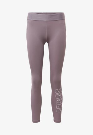 ALPHASKIN 7/8 LEGGINGS - Tights - purple