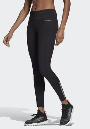 AGRAVIC TRAIL RUNNING LEGGINGS - Tights - black