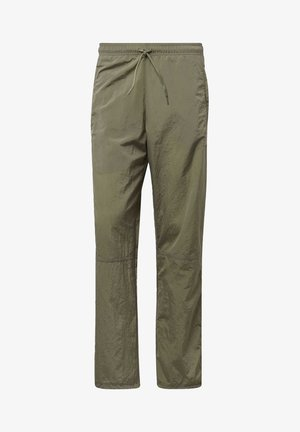 WOVEN JOGGERS - Outdoor trousers - green