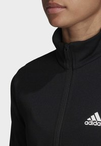 adidas Performance - TEAM SPORTS TRACKSUIT - Tuta - black - 6