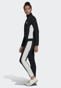 adidas Performance - TEAM SPORTS TRACKSUIT - Tuta - black - 3