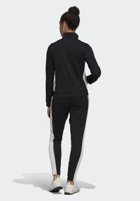 adidas Performance - TEAM SPORTS TRACKSUIT - Tuta - black - 2