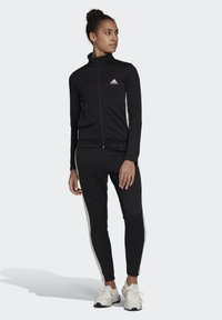 adidas Performance - TEAM SPORTS TRACKSUIT - Tuta - black - 0