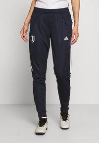 adidas Performance - JUVENTUS AEROREADY SPORTS FOOTBALL PANTS - Fanartikel - blue - 0