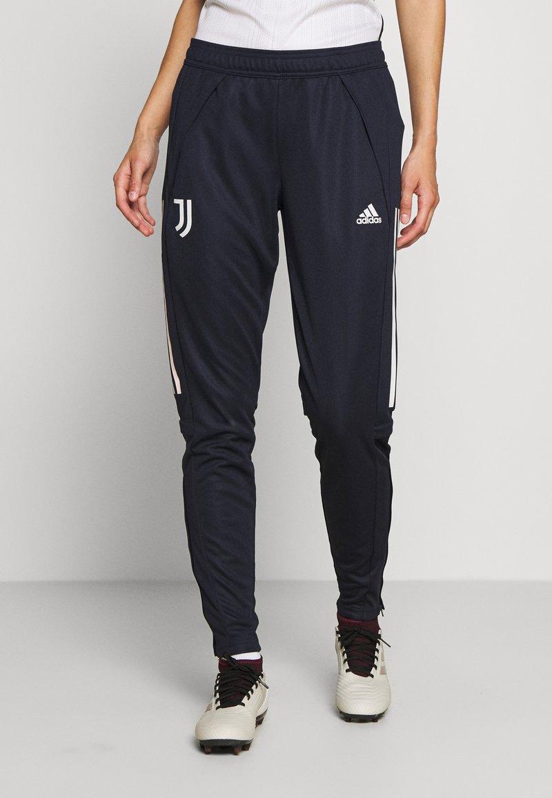 adidas Performance - JUVENTUS AEROREADY SPORTS FOOTBALL PANTS - Fanartikel - blue