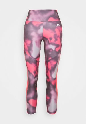AEROREADY TRAINING SPORTS - Leggings - pink/white