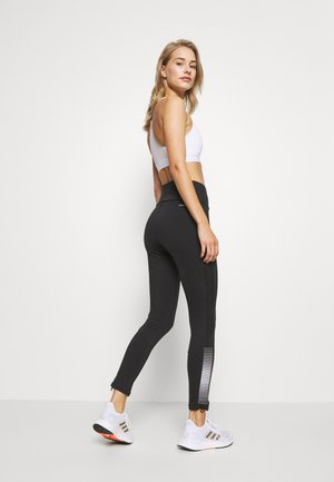 Legginsy - black/white