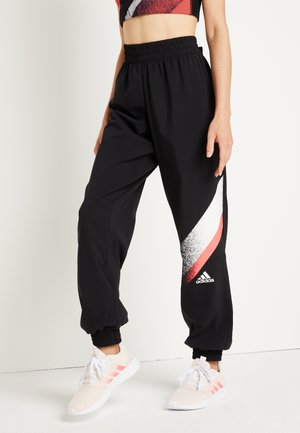 Trainingsbroek - black/white/white