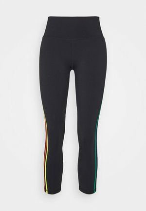 PRIDE TIGHTS - Leggings - black