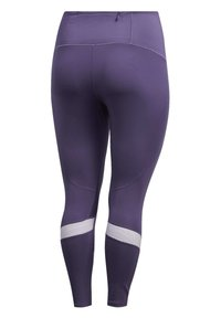 adidas Performance - HOW WE DO 7/8 LEGGINGS  (PLUS SIZE) - Leggings - purple - 9