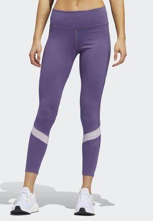 HOW WE DO 7/8 LEGGINGS - Leggings - purple