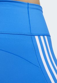 adidas Performance - BELIEVE THIS 3-STRIPES 7/8 LEGGINGS (PLUS SIZE) - Legging - blue - 6