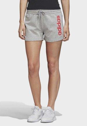 ESSENTIALS LINEAR LOGO SHORTS - Sports shorts - grey