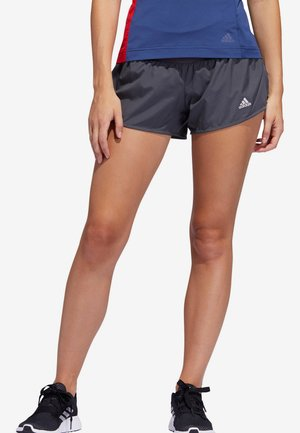 "ADIDAS PERFORMANCE DAMEN LAUFSHORTS ""RUN IT"" - kurze Sporthose - grau (231)"