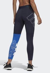 adidas Performance - 2020-03-25 MUST HAVES COLORBLOCK 7/8 LEGGINGS - Leggings - blue - 1