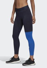 adidas Performance - 2020-03-25 MUST HAVES COLORBLOCK 7/8 LEGGINGS - Leggings - blue - 2