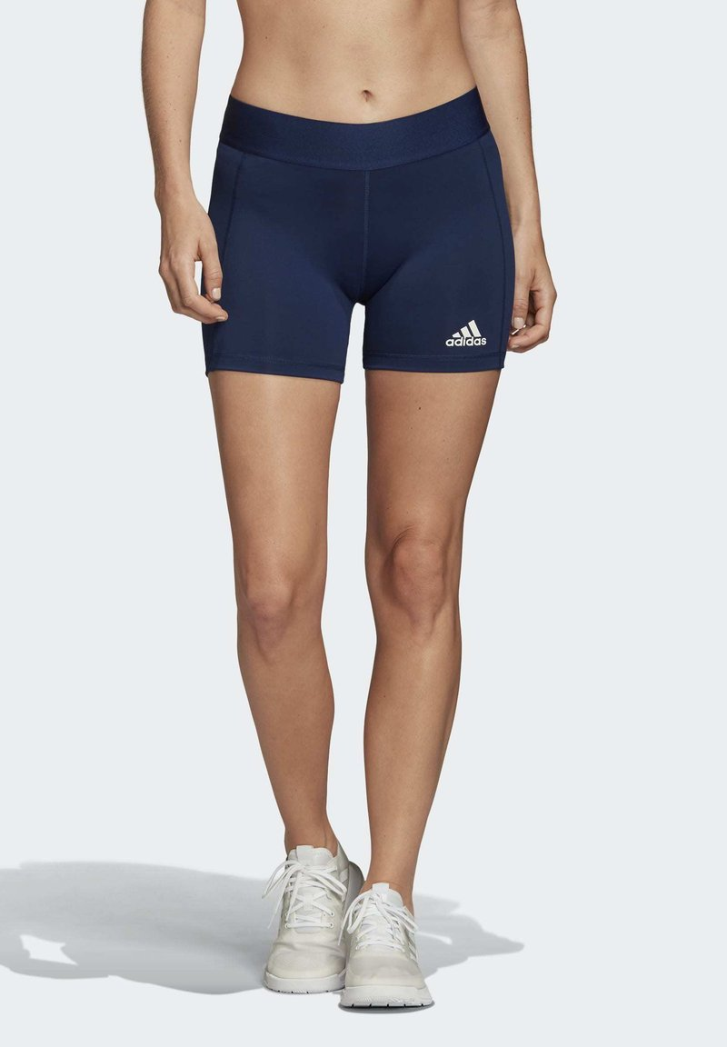 adidas Performance - ALPHASKIN VOLLEYBALL 4-INCH SHORT TIGHTS - kurze Sporthose - blue