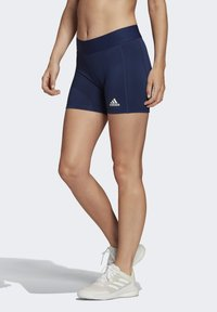 adidas Performance - ALPHASKIN VOLLEYBALL 4-INCH SHORT TIGHTS - kurze Sporthose - blue - 2