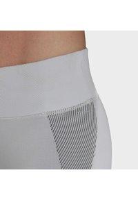 adidas Performance - PRIMEKNIT LEGGINGS - Leggings - grey - 5